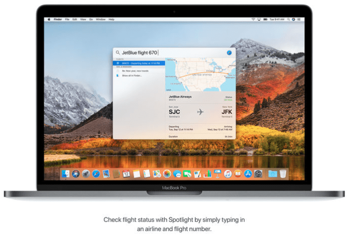 New Features of MacOS High Sierra