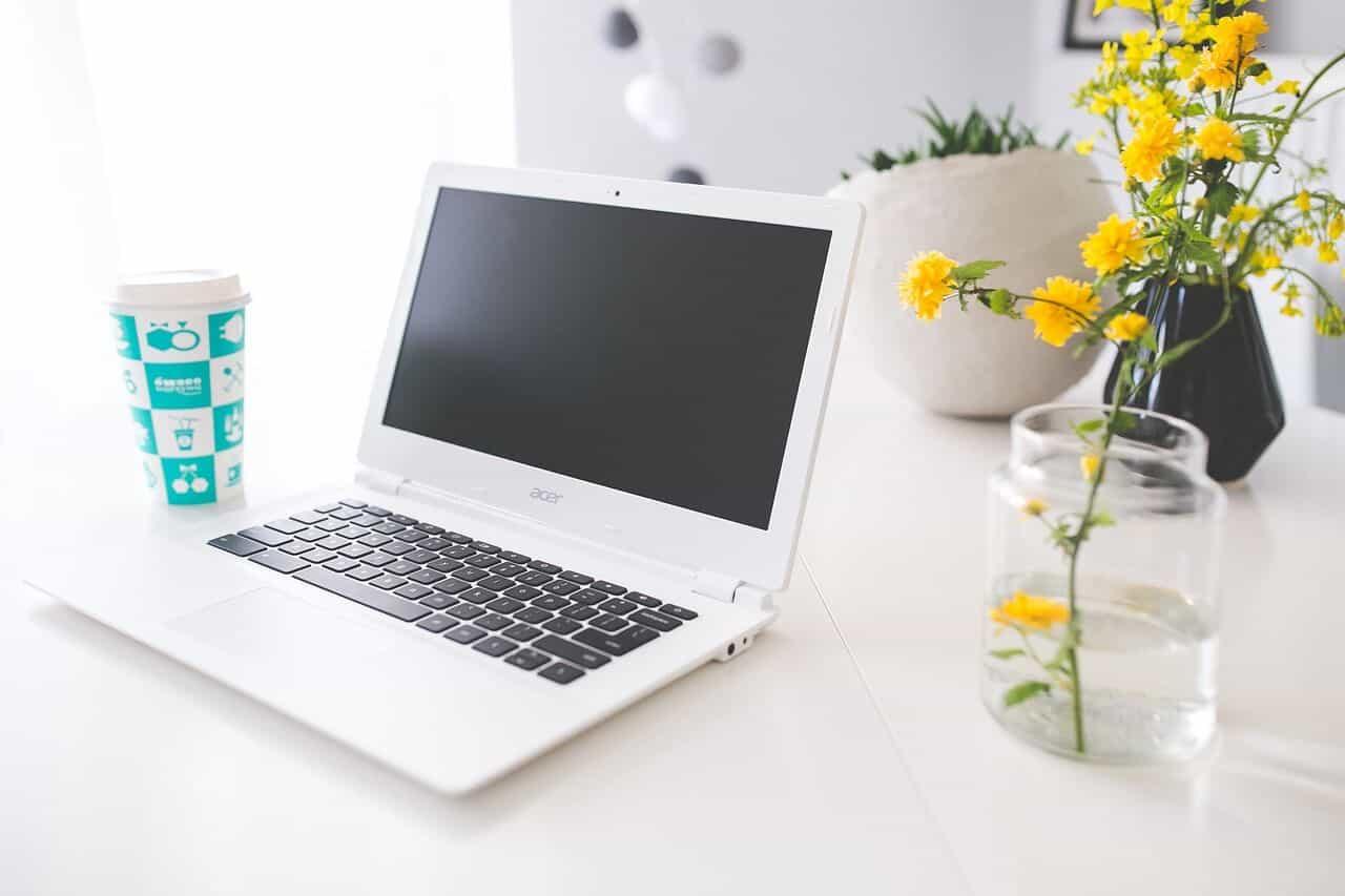 Screenshot on Chromebook laptop