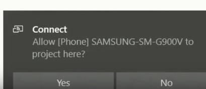 Connect Android to PC for mirroring